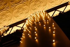 the promethean - lounge bar custom lighting - koush - adelaide