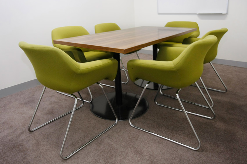 mba financial strategists - office meeting room table upholstered chair - koush - unley