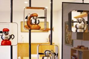 workers cottage - custom display unit screen shelving - koush - brompton