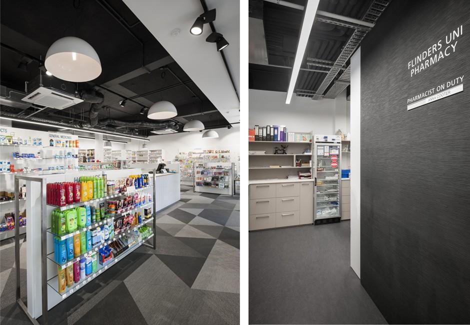 Pharmacy - Interior - Koush - Flinders Uni